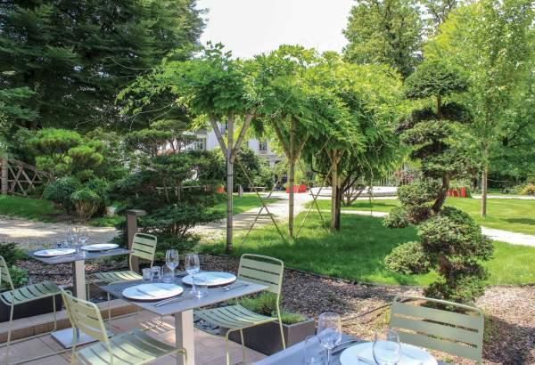 Terrasse Alchimiste restaurant Aix les Bains